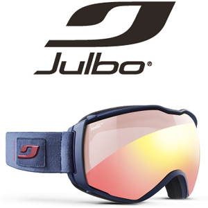 Julbo Aerospace Goggles met Zebra Light Red lens
