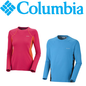 Columbia Omni-Heat Baselayer shirts