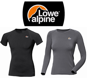 Lowe Alpine Dry Zone Seamless ondergoed
