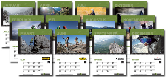 Hiking-site.nl jubileum-kalender 2014