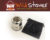 Wild Stoves Wild Wood Gas Camp Stove MKII