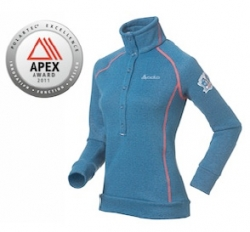 Damesshirt Via Calma van ODLO wint Polartec Apex Design Award 2011