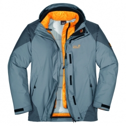 Jack Wolfskin White Rock Jacket Men/Women gemaakt voor de kou