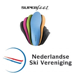 Superfeet official supplier Nederlandse Ski Vereniging
