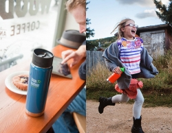 Back 2 school of work met eco-drinkfles van Klean Kanteen
