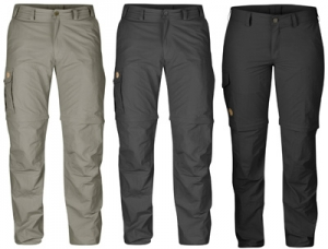 Fjallraven Skule MT Zip-Off Trousers voor tropische temperaturen