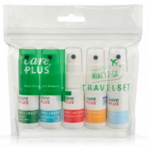 Care Plus introduceert Travelset met 5 mini-sprays voor optimale bescherming
