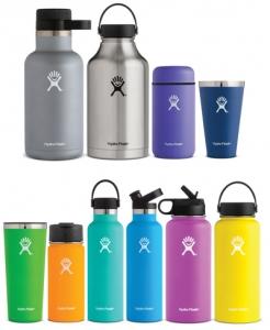 De kleurrijke isoleerflessen van Hydro Flask