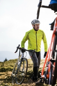 VAUDE Softshell Jacket Steglio: cycling met Recycling
