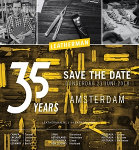 Leatherman Heritage World tour: ontmoet uitvinder van de multitool in Amsterdam