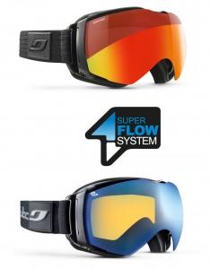 Julbo SuperFlow System voorkomt condensvorming in de goggles