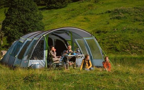 Meadowood gezinstenten van Coleman maken kamperen met kinderen nog leuker