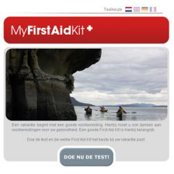 MyFirstAidKit.eu met Care Plus