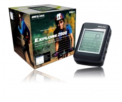 Qstarz BT-Q2000 explorer, GPS Sport Recorder met LCD Display