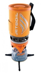 Jetboil Flash Gold met temperatuurindicator