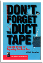 Kristin Hostetter: Don't forget the Duct tape