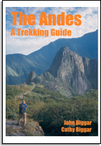 John en Cathy Biggar: The Andes, a trekking guide