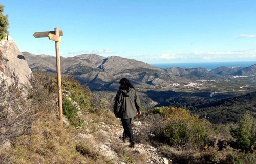 Hiking aan de Costa Blanca